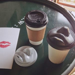 Paper Cup Lids with Lips!